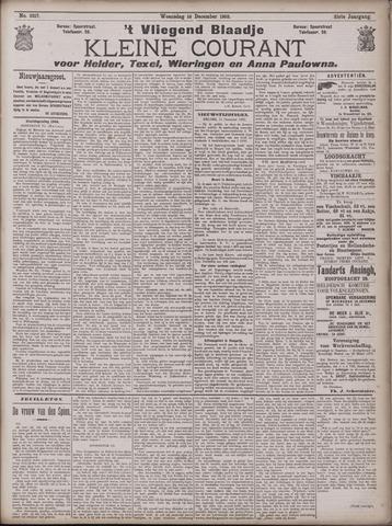 Vliegend blaadje : nieuws- en advertentiebode voor Den Helder 1903-12-16