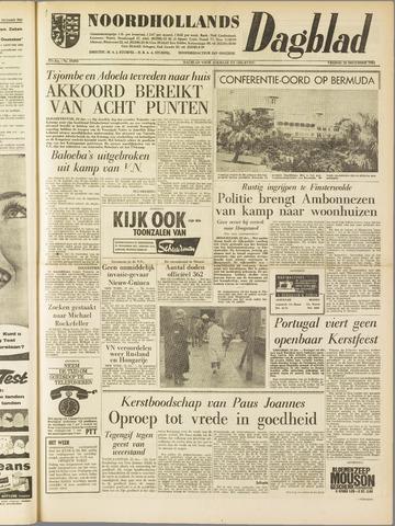Noordhollands Dagblad : dagblad voor Alkmaar en omgeving 1961-12-22