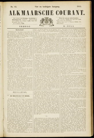 Alkmaarsche Courant 1882-07-14