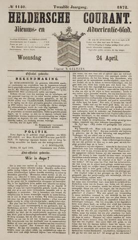Heldersche Courant 1872-04-24
