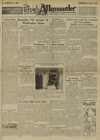 De Vrije Alkmaarder 1948-12-09