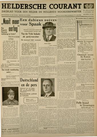 Heldersche Courant 1938-11-08