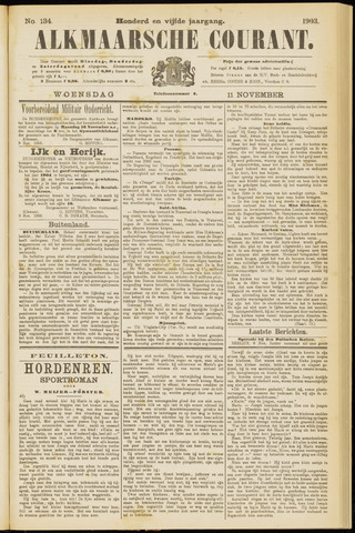 Alkmaarsche Courant 1903-11-11
