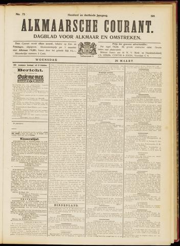 Alkmaarsche Courant 1911-03-29