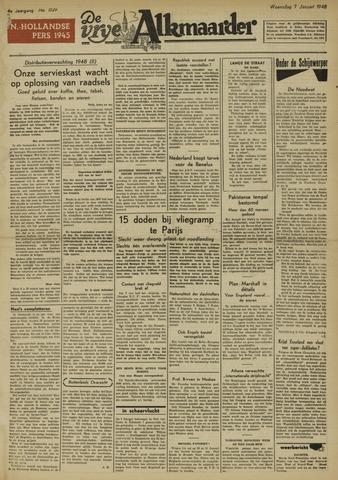 De Vrije Alkmaarder 1948-01-07