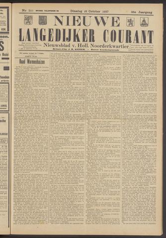 Nieuwe Langedijker Courant 1927-10-18