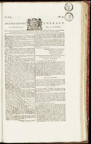 Alkmaarsche Courant 1833-10-14