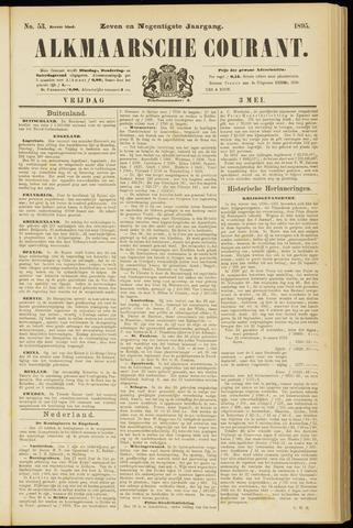 Alkmaarsche Courant 1895-05-03