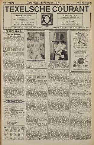 Texelsche Courant 1931-02-28