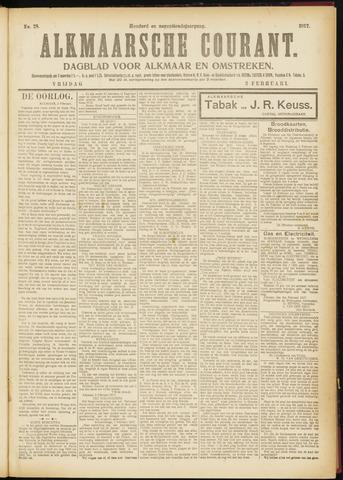 Alkmaarsche Courant 1917-02-02