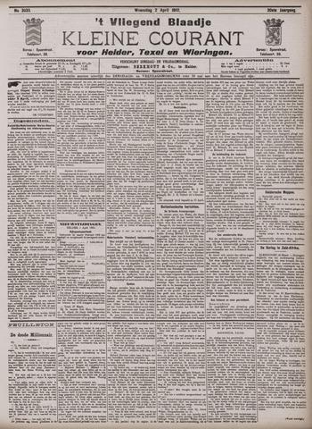 Vliegend blaadje : nieuws- en advertentiebode voor Den Helder 1902-04-02