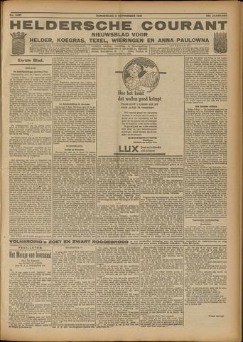 Heldersche Courant 1921-09-08