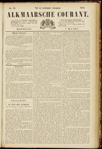 Alkmaarsche Courant 1883-03-07