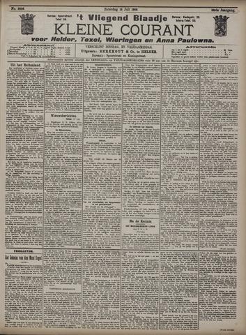 Vliegend blaadje : nieuws- en advertentiebode voor Den Helder 1908-07-18
