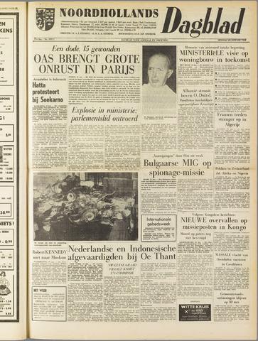 Noordhollands Dagblad : dagblad voor Alkmaar en omgeving 1962-01-23