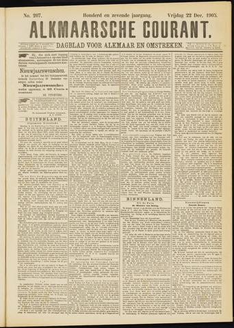 Alkmaarsche Courant 1905-12-22