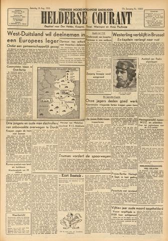Heldersche Courant 1950-08-26