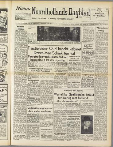 Nieuw Noordhollandsch Dagblad : voor Alkmaar en omgeving 1951-01-25