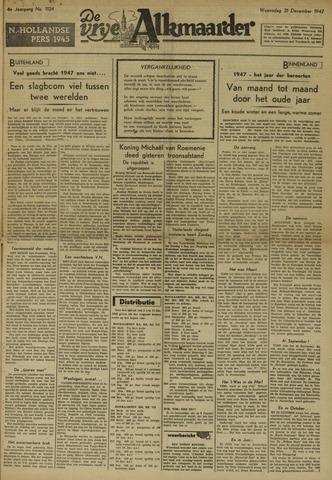 De Vrije Alkmaarder 1947-12-31