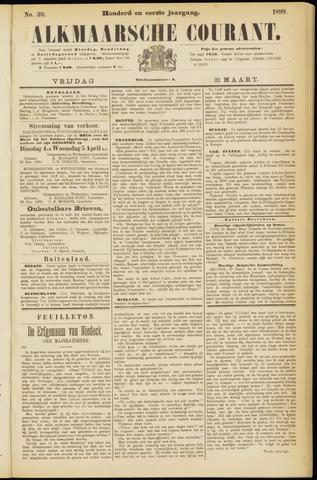 Alkmaarsche Courant 1899-03-31