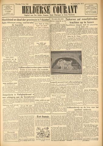 Heldersche Courant 1949-10-19