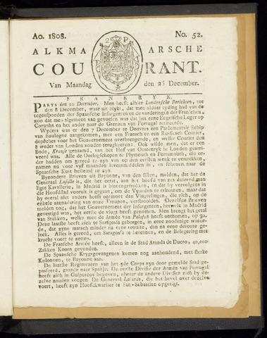 Alkmaarsche Courant 1808-12-26
