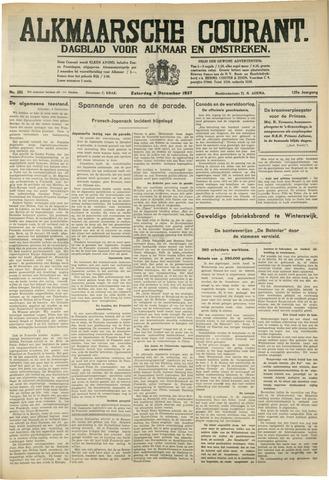 Alkmaarsche Courant 1937-12-04