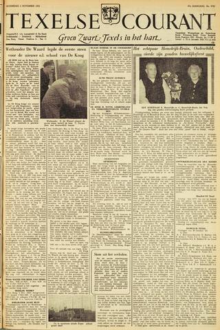 Texelsche Courant 1953-11-04