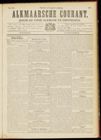 Alkmaarsche Courant 1907-11-25