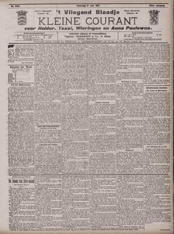 Vliegend blaadje : nieuws- en advertentiebode voor Den Helder 1902-06-21