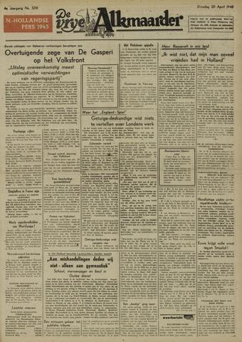 De Vrije Alkmaarder 1948-04-20