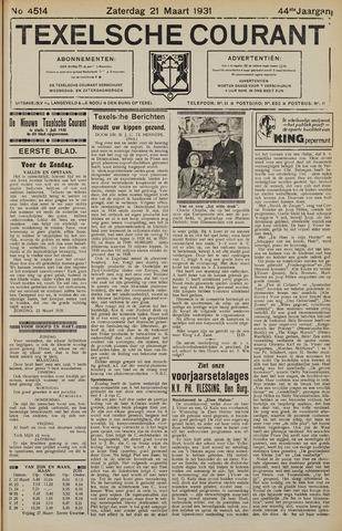Texelsche Courant 1931-03-21