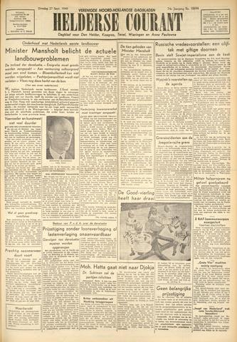 Heldersche Courant 1949-09-27