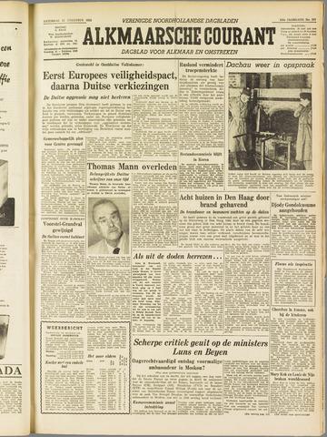 Alkmaarsche Courant 1955-08-13