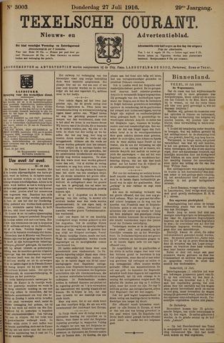 Texelsche Courant 1916-07-27