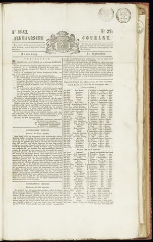 Alkmaarsche Courant 1843-09-11