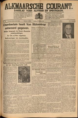 Alkmaarsche Courant 1939-10-27