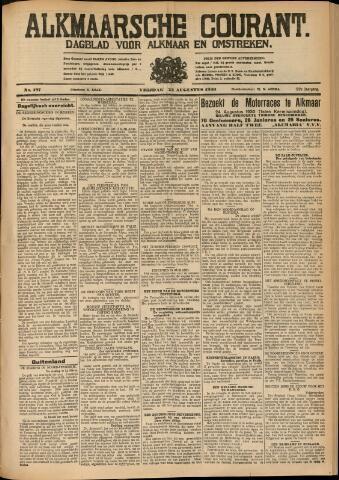 Alkmaarsche Courant 1930-08-22