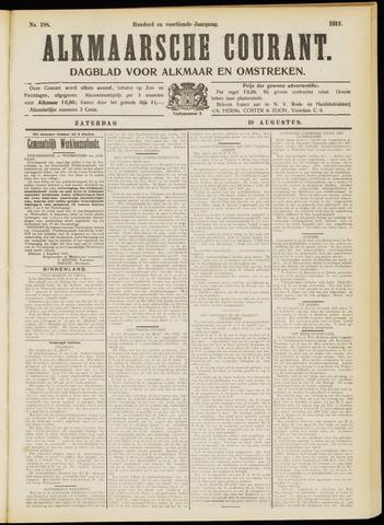 Alkmaarsche Courant 1912-08-10