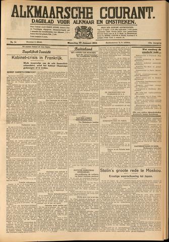 Alkmaarsche Courant 1934-01-29