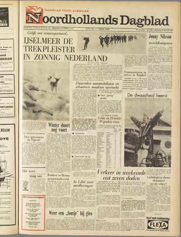 Noordhollands Dagblad : dagblad voor Alkmaar en omgeving 1963-02-25