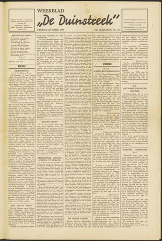 De Duinstreek 1947-04-25