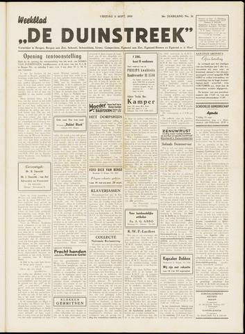 De Duinstreek 1959-09-11