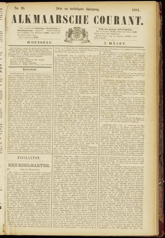 Alkmaarsche Courant 1881-03-02