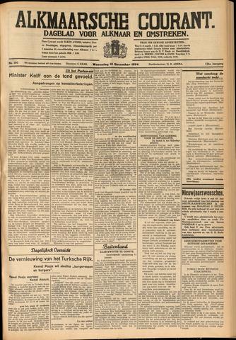 Alkmaarsche Courant 1934-12-12