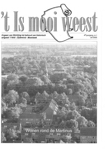 't Is mooi weest 2003-07-01