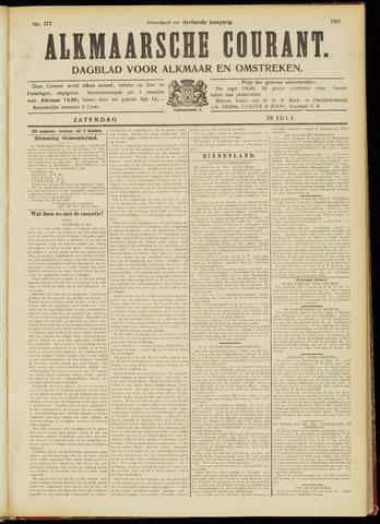 Alkmaarsche Courant 1911-07-29