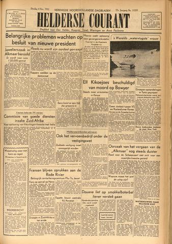Heldersche Courant 1952-11-04