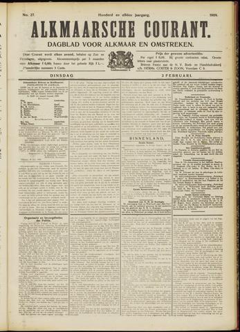 Alkmaarsche Courant 1909-02-02