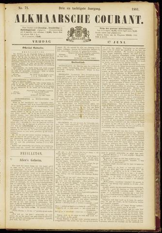 Alkmaarsche Courant 1881-06-17